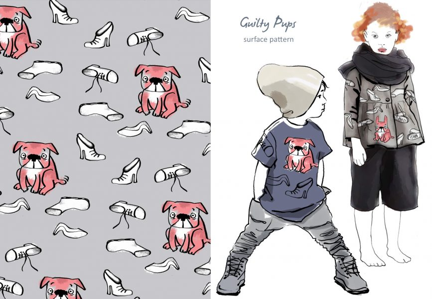 Guilty Pups pattern