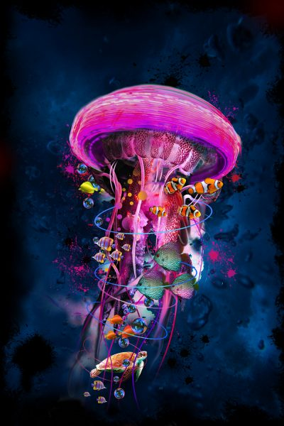 Electric Jellyfish world