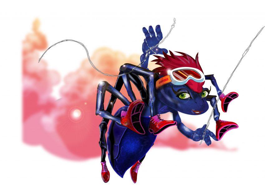 spinny-spider