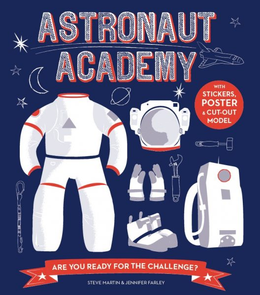 Astronaut Academy Book Cover by Jennifer Farley