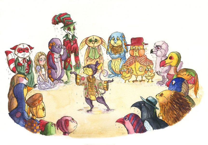 Alice's Adventures in Wonderland illustration