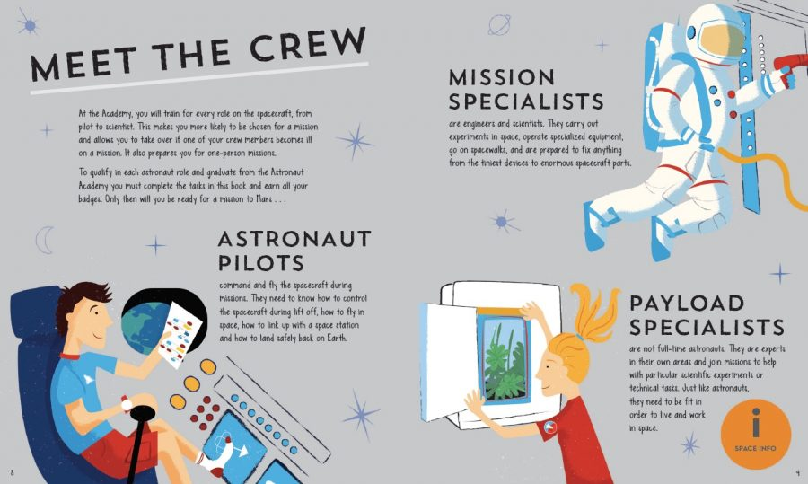 Astronaut Academy illustrated by Jennifer Farley