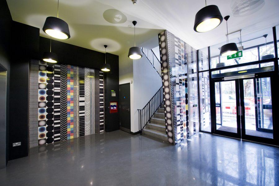 E1 Studios Entrance