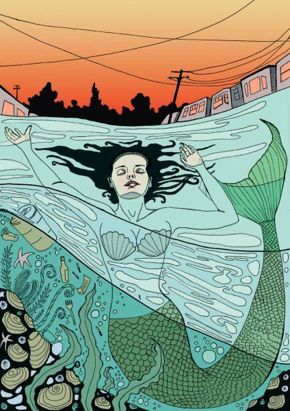 The Mermaid of 21st Avenue