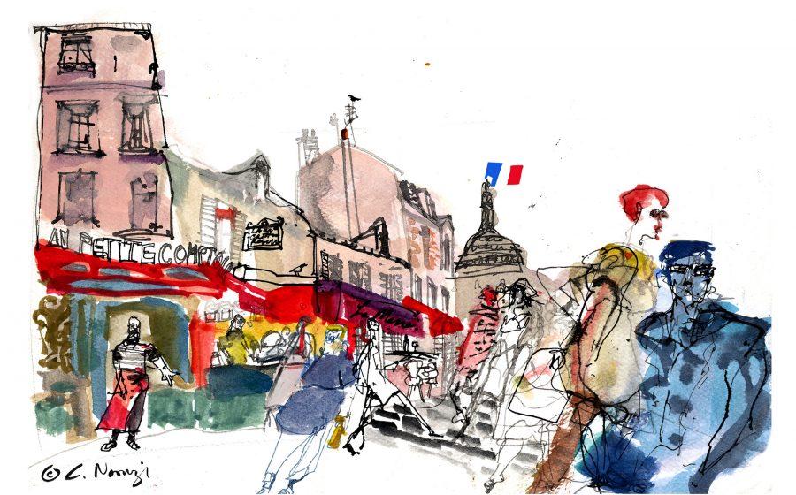Montmartre reportage