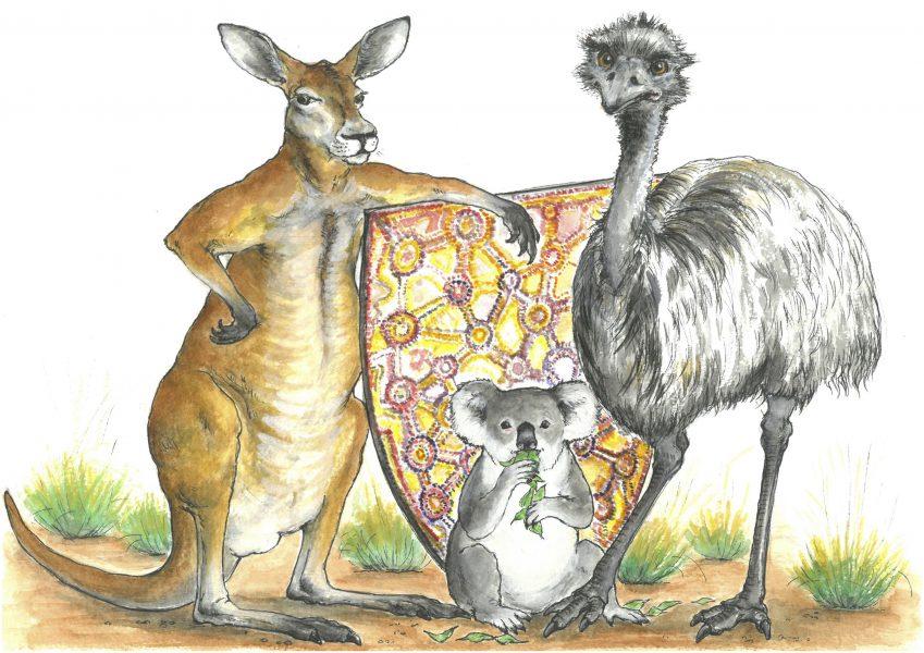 The Lion & the Unicorn Visit Australia