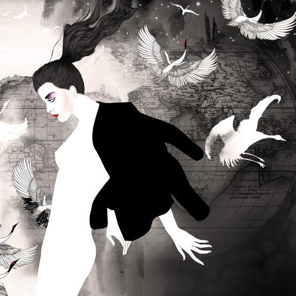 Fashion illustrations for La Perla Lingerie