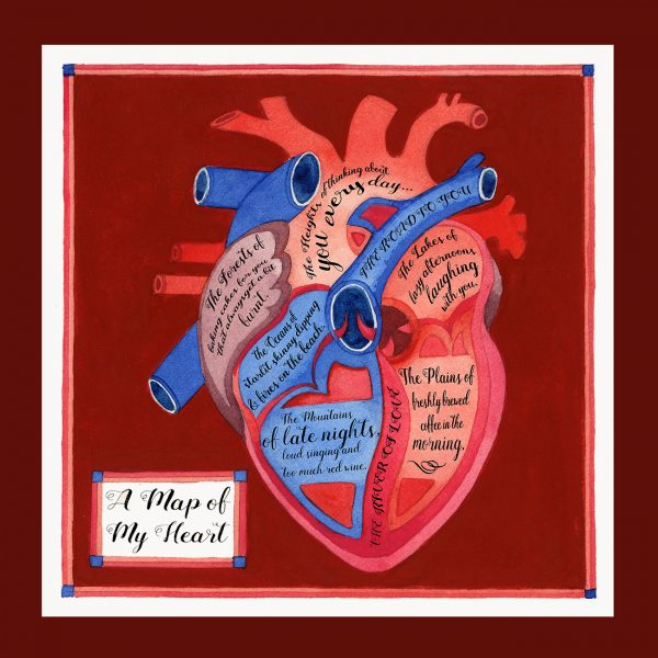 A map of my heart - Thames and Hudson.