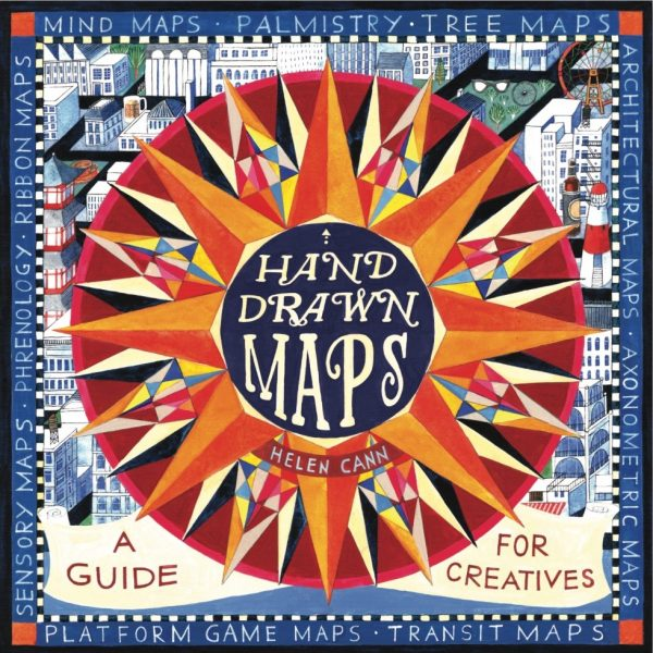 The cover for 'Hand Drawn Maps'- Thames and Hudson
