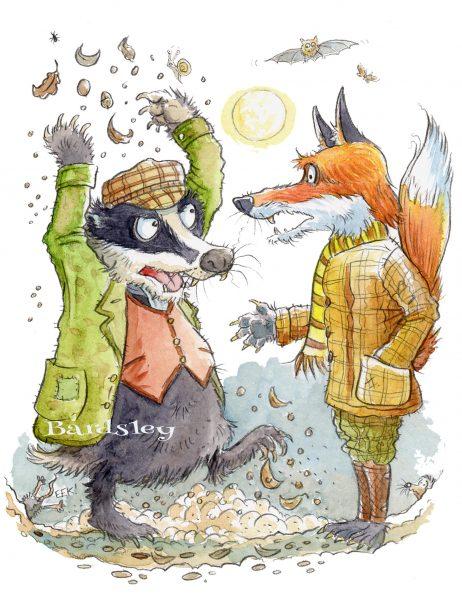 Noisy badger