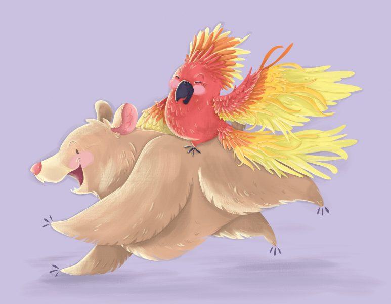 Bear and Phoenix
