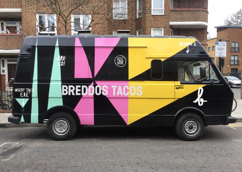 Painted Breddos VW Van