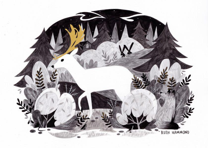 deer for print