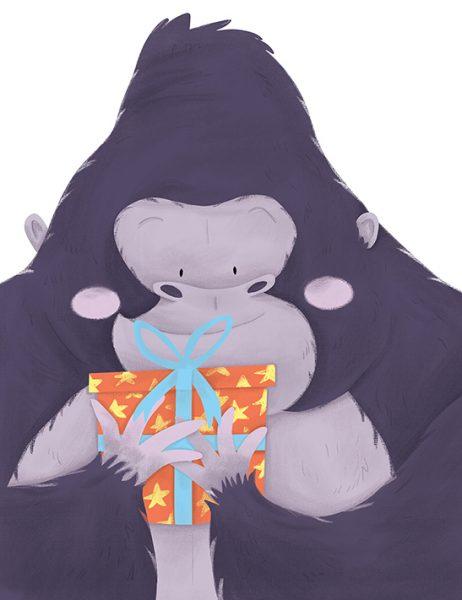 Birthday Gorilla
