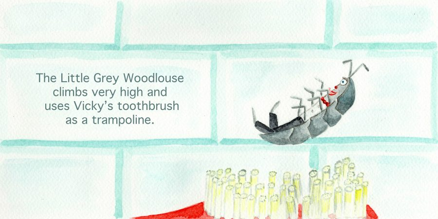 Vicky Licketts and the Little Grey Woodlouse