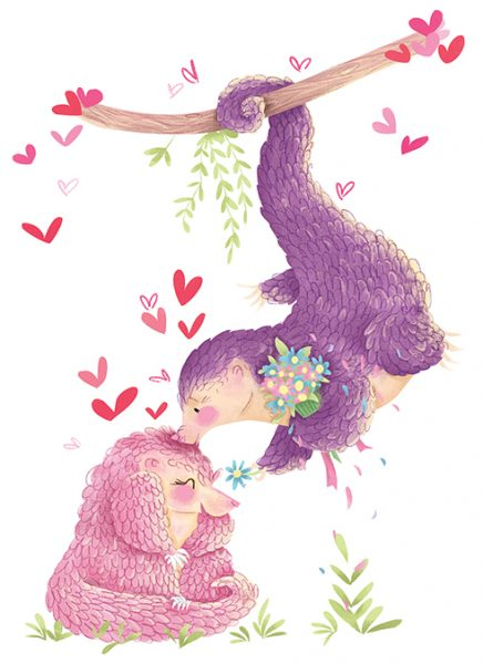 Valentines Pangolins