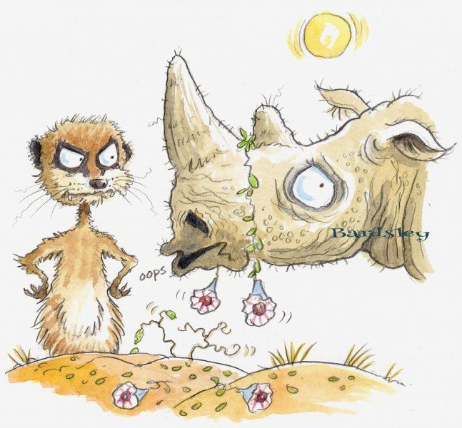 Rodney the rhino