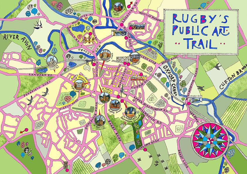Rugby Public Art Trail