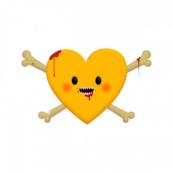 Wildhearts Smileybones emoji