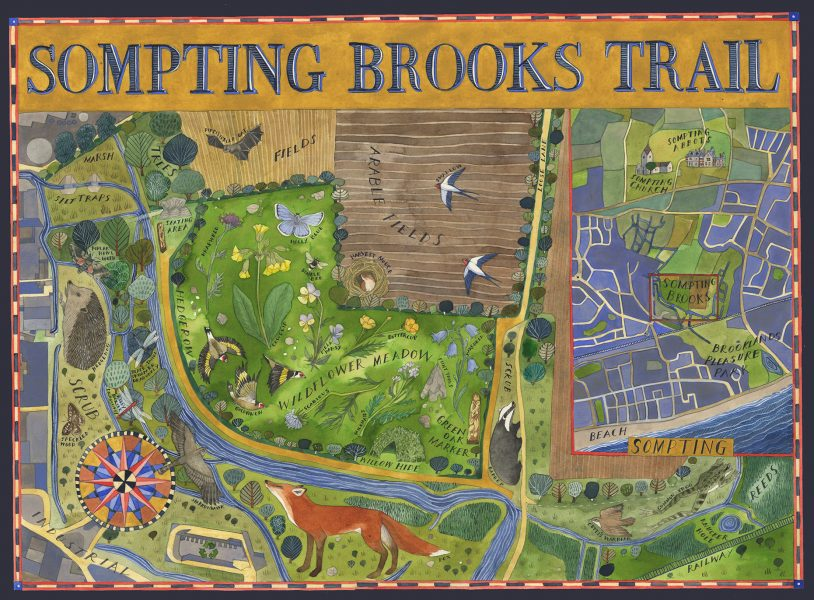 Sompting Brooks Trail - Ouse and Adur River Trust
