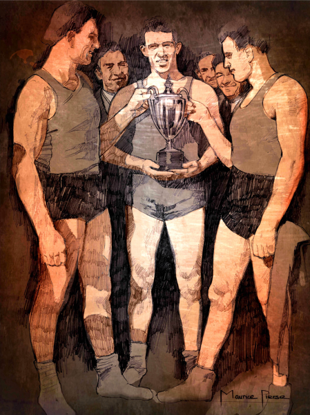 Casey Brothers Illustration.