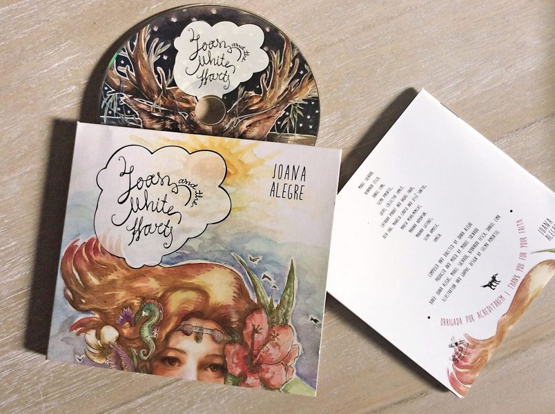 Joan and the white hart CD album