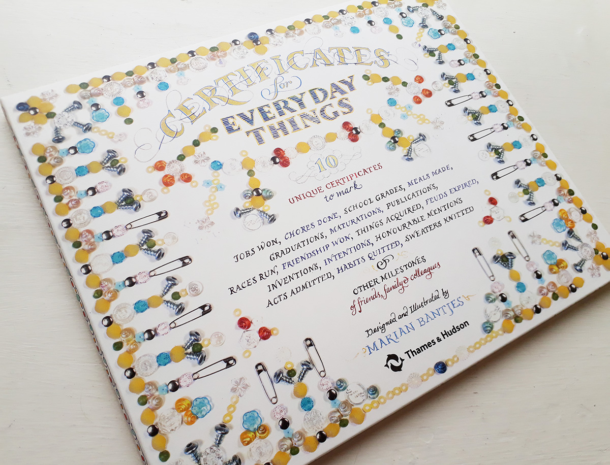 Certificates For Everyday Things By Marian Bantjes The Aoi