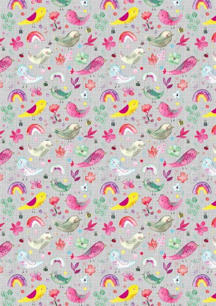 Cute Kiddies Pattern RGB