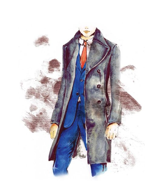 Fashion Illustration: Trench Coat 2