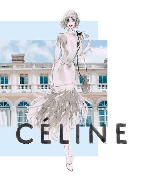 Fashion Illustration: CELINE Spring Summer