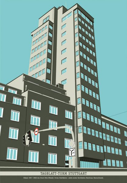 Tagblatt-Tower 1920´s