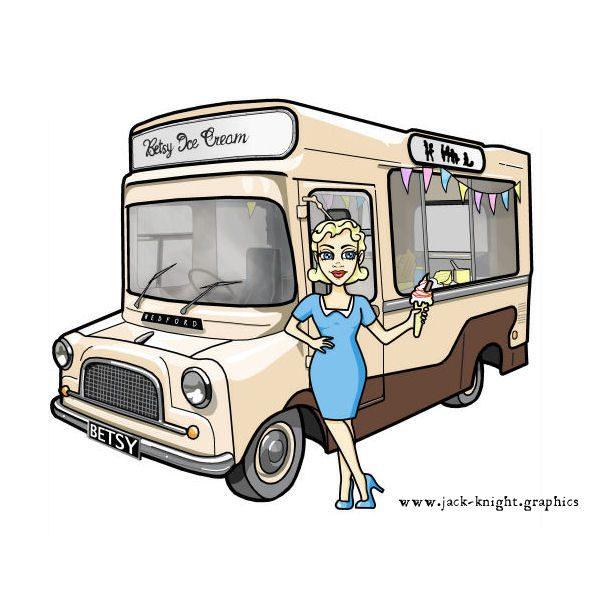 Betsy the Ice Cream Van