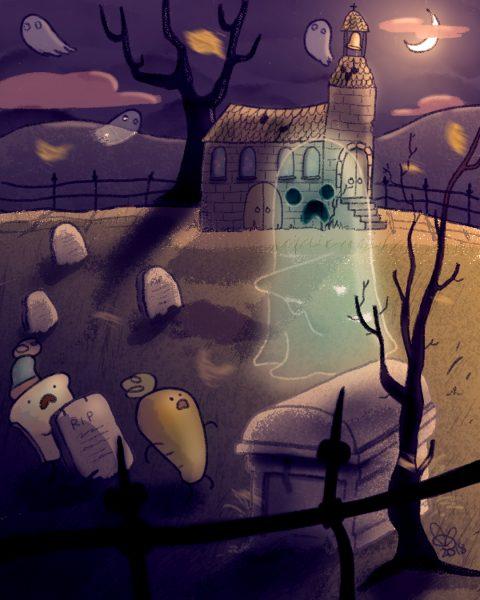 #folktaleweek day 4 #ghost