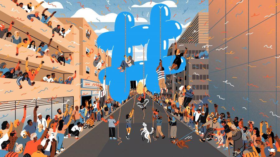 Twitter - Hashtag 10th anniversary