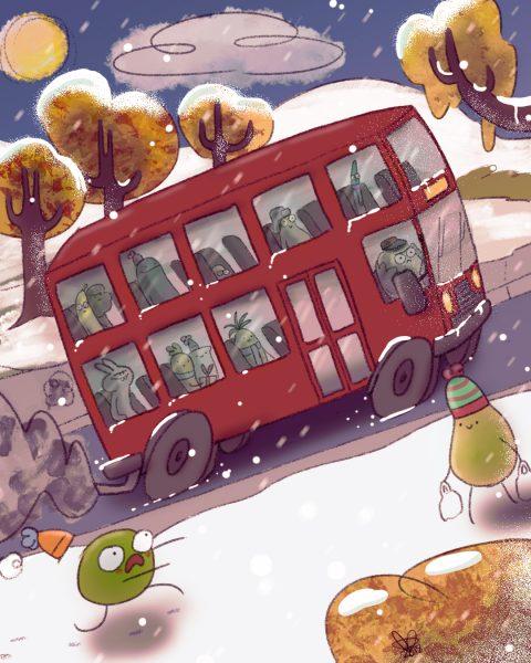 Carrot & Toast's Christmas Jouney pt2