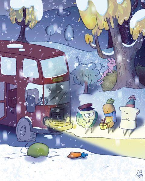 Carrot & Toast's Christmas Jouney pt3