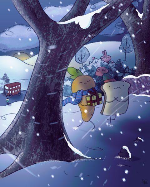 Carrot & Toast's Christmas Jouney pt4