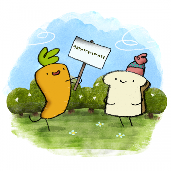 Carrot and Toast support #kidlit4climate
