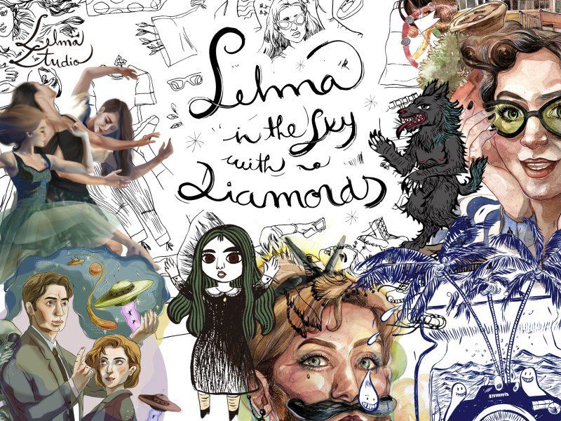 Selma in the sky with no diamonds