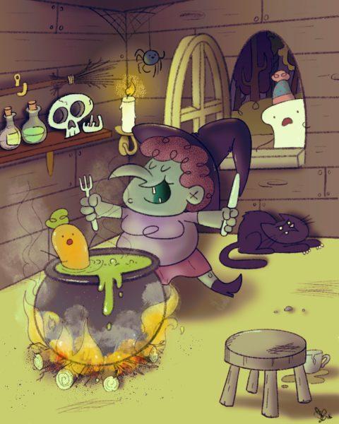#folktaleweek day 3 #witch