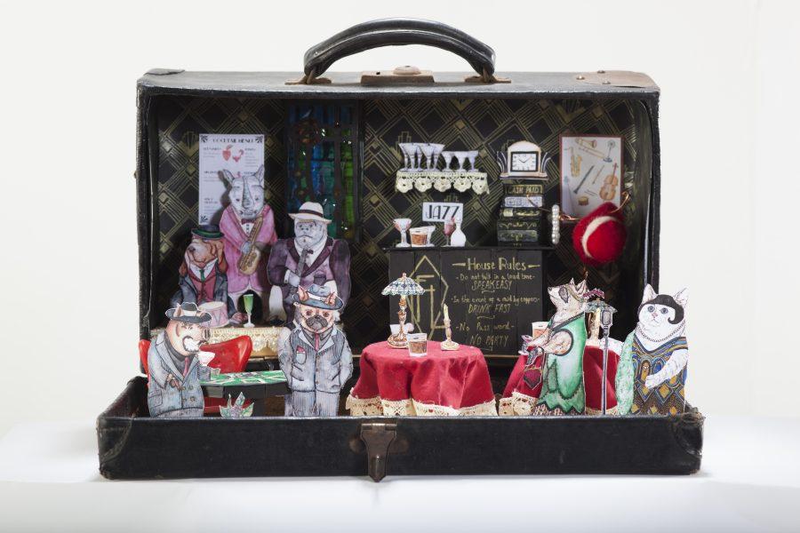 Speakeasy Suitcase