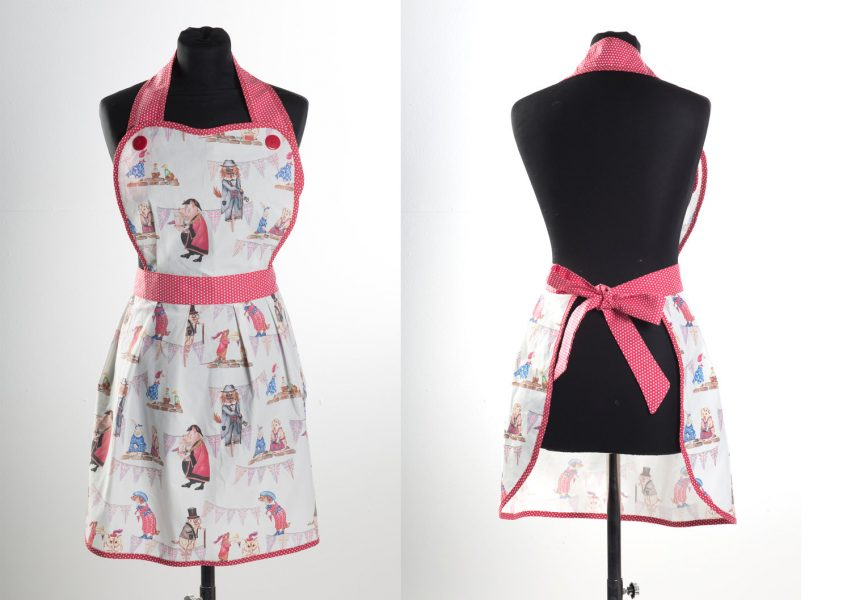VE Day Character Apron