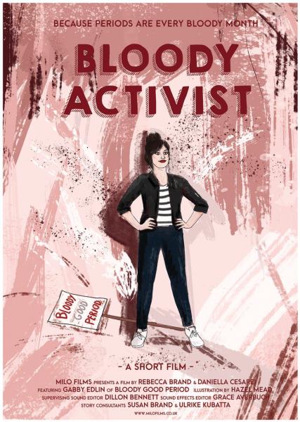 Bloody Activist Film Poster
