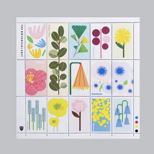 Botanical Stamps