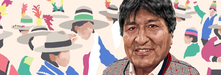 Evo Morales for The Financial Times