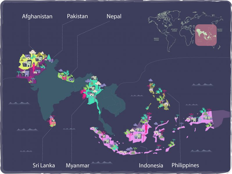 Final Map N-Peace Countries