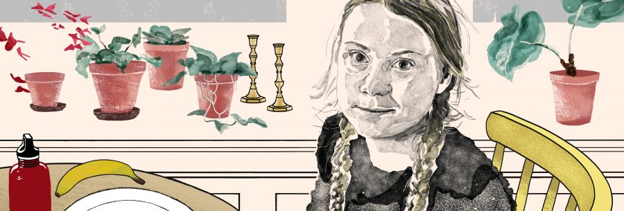 Greta Thunberg for The Financail Times