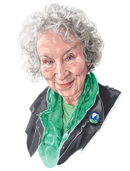 Margaret Atwood for the Financial Times 2019