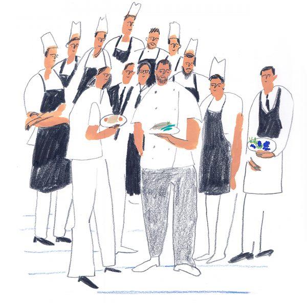 Chefs for Scott Dunn Magazine.