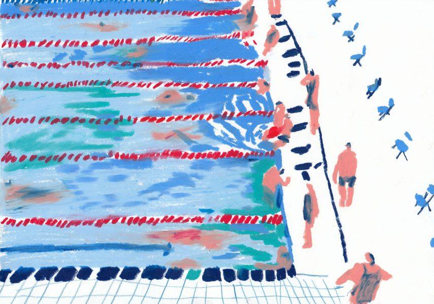 Melting pools